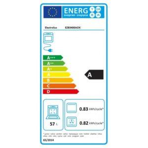 Energetický štítek - trouba Electrolux