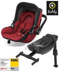 Test, recenze dětské autosedačky Kiddy Evolution Pro 2 - speciální nástavec na ISOFIX