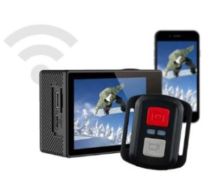 Test, recenze akční kamery Niceboy Vega 5 FUN - wifi